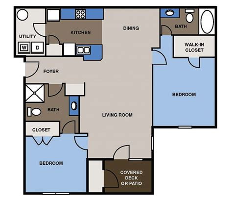 fine dining floor plan two three bedroom apartments for rent birchfield fine