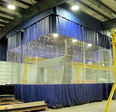 warehouse curtains warehouse divider curtains akon curtain and dividers