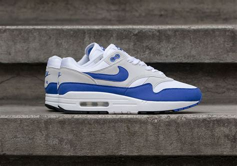 Nike Air Max Weiß by Where To Buy Nike Air Max 1 Og Sport Blue Sneakernews