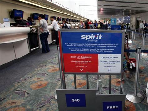 spirit airlines 100 fee for carry on bags may 10 2012 spirit we hope fliers don t pay our 100 carry on bag fee