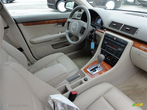 2004 Audi A4 Interior by Beige Interior 2004 Audi A4 3 0 Quattro Sedan Photo