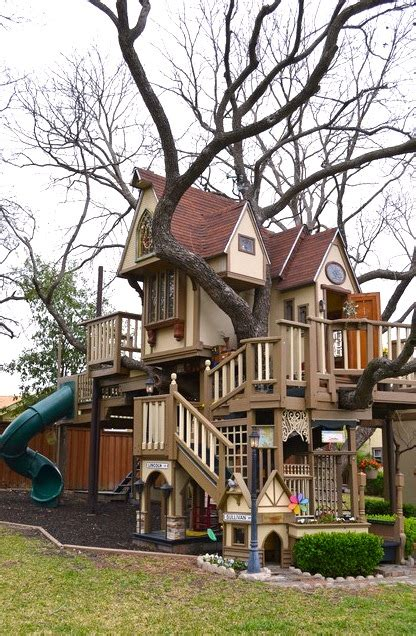backyard kids house terrific tree houses for family backyard fun