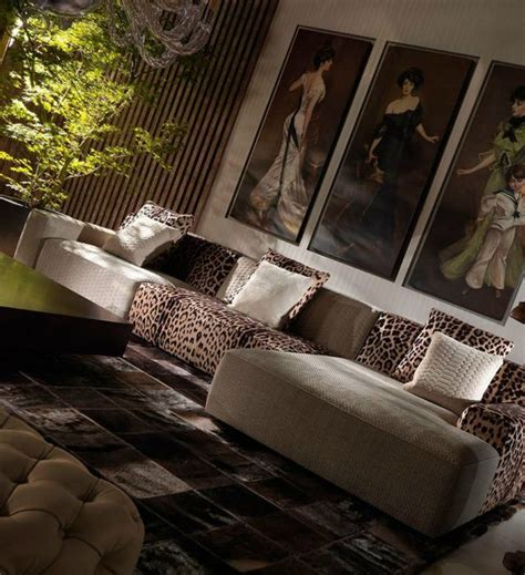 cheetah print living room animal prints in luxury living rooms