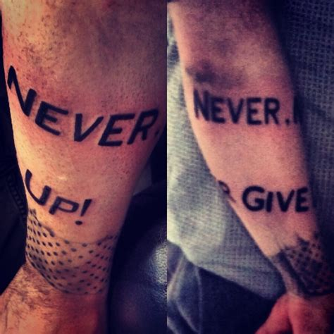 winston churchill tattoo never never never give up winston churchill quote