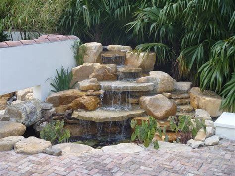 building a koi pond waterfall house exterior and interior
