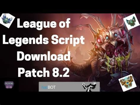 youtube tutorial league of legends league of legends script tutorial patch 8 2 jan 25 2018