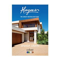 colour cards haymes paint