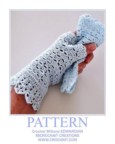 white glove pattern 1000 images about crochet wrist warmers on pinterest