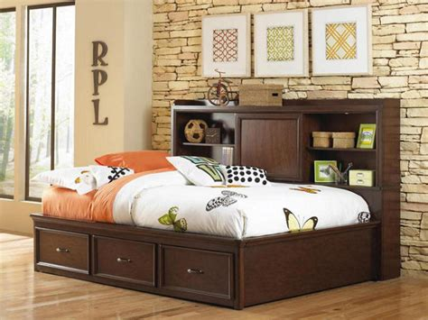 full bed storage bookcases ideas wonderful full bookcase bed lancaster