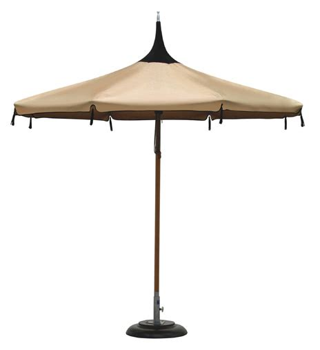 Pagoda Patio Umbrella Patio Umbrellas And Outdoor Parasols Best Picks For 2008 By Designer Lillian Pikus