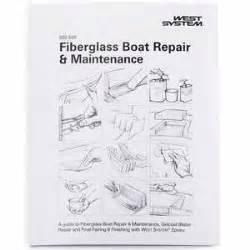 fiberglass boat repair book books west marine