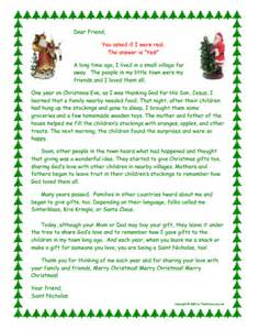 Parent Letter To Child About Santa Explaining Santa How Children Learn