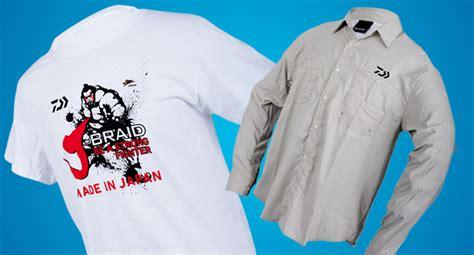 Afta Apparel T Shirt new daiwa fishing shirts tackle junkietackle junkie
