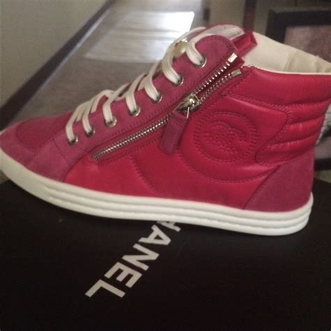 56 chanel shoes pink chanel sneakers 7 in s