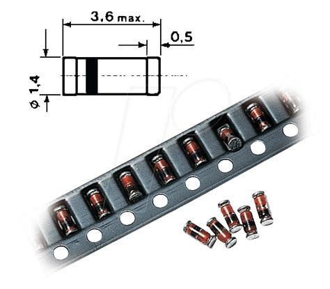 melf diode marking code melf diode marking 28 images 10x smd bym13 40 do 213ab melf schottky rectifier diodes