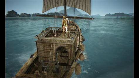 bdo fishing boat spots black desert online fishing youtube