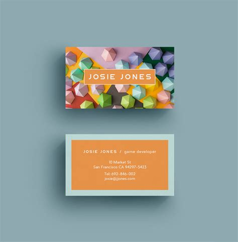 How To Create A Business Card In Indesign Cs6