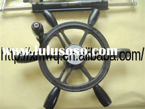marine steering wheel removal hydraulic steering system for below 150hp for sale price