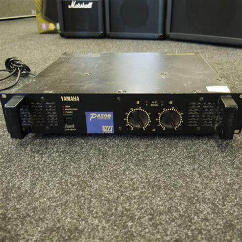 Power Lifier Second yamaha p4500 power 2nd rich tone