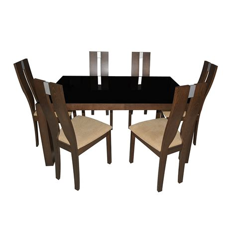Promo Meja Lipat Mobil Travel Dining Table buy quot eros quot glass dining table 6 seater in india 82608298 shopclues