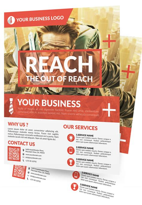 new business flyer template new creative business flyer templates graphics design