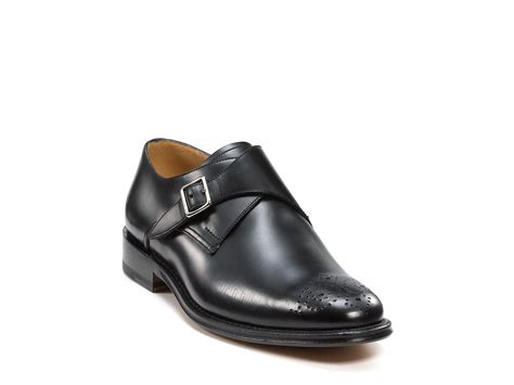 monk loafers bally mappy monk loafer in black for lyst