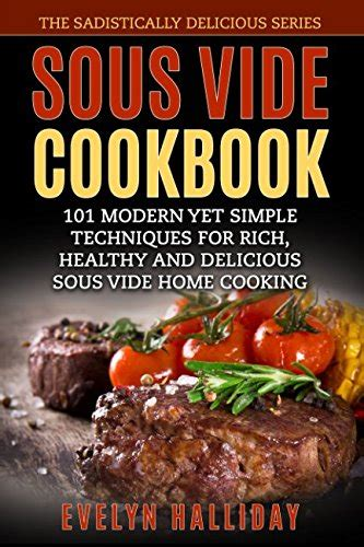 sous vide cookbook modern recipes made easy books home sous vide cookers kitchen accessories