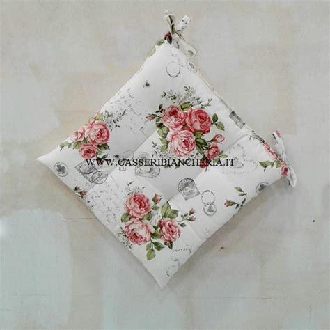 cuscini country per sedie cuscini per sedie shabby roses casseri biancheria