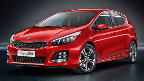 kia new model kia shows new tiny models cee d gt line and picanto at the