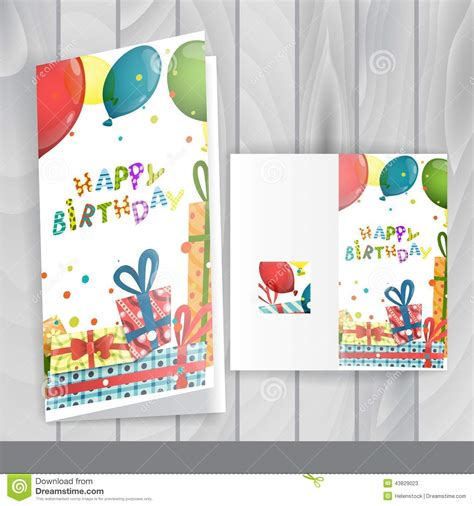 Design Templates For Greeting Cards by Greeting Card Design Template Stock Vector Image 43829023