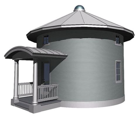 Grain Bin House Floor Plans by Grain Bin Cabin Plan