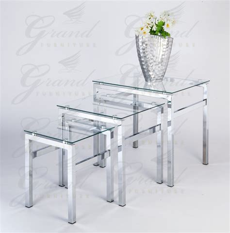 Glass Table Sets For Living Room Codeartmedia Glass Living Room Table Set 10 Beautiful Glass Table Sets For Living Room