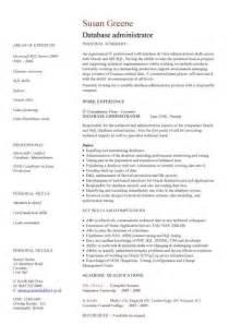 IT CV template, CV library, technology job description