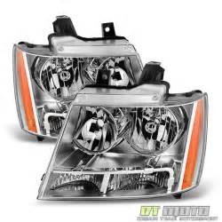 2007 2014 chevy avalanche suburban tahoe headlights ls