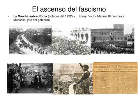 ppt el fascismo italiano powerpoint presentation id 3706716
