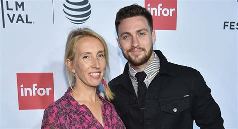 aaron taylor johnson new movie aaron taylor johnson has a movie date night with wife sam