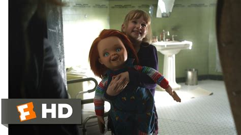 chucky movie number 1 curse of chucky 1 10 movie clip he scared me half t