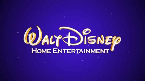 walt disney home entertainment logo remake blue purple