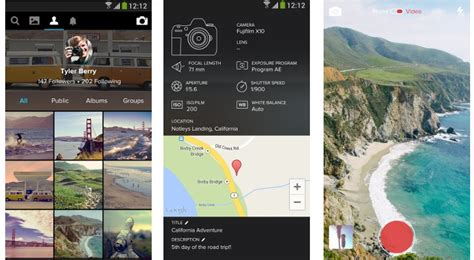 flickr for android flickr for android 3 0 out now on play with redesigned ui