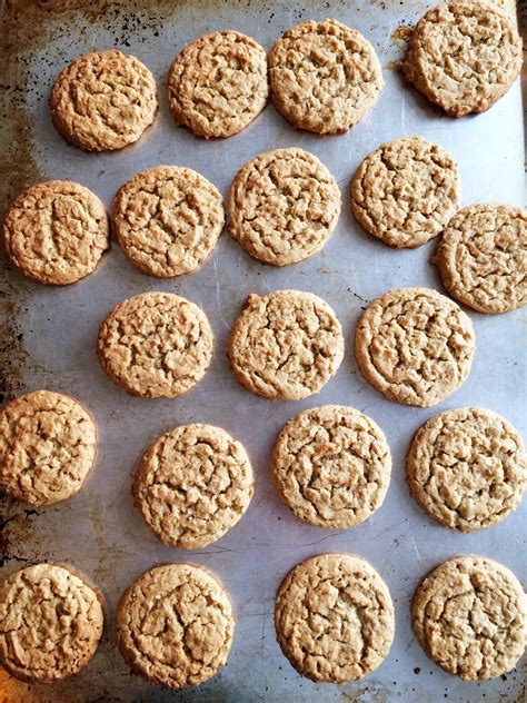 peanut butter oatmeal treats peanut butter oatmeal cookies the gingham apron