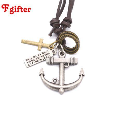 Kalung Rope Anchor jangkar palang pendant promotion shop for promotional
