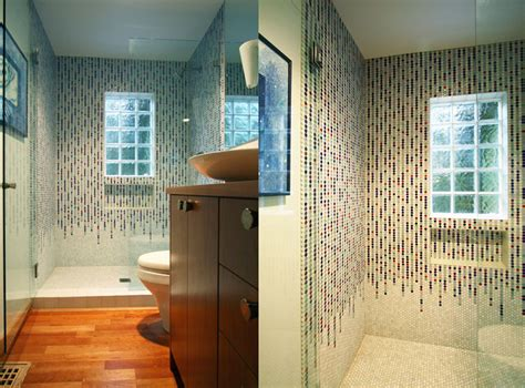Glass Tile Bathroom Ideas by Bathroom Remodeling 5 Bathroom Tile Ideas From Portland