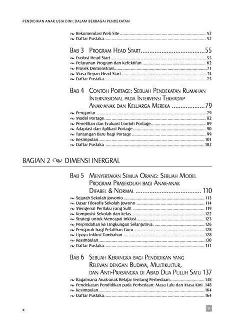 Pendidikan Anak Usia Dini Saat Ini Edisi 13 George Morisson jual buku pendidikan anak usia dini dalam berbagai