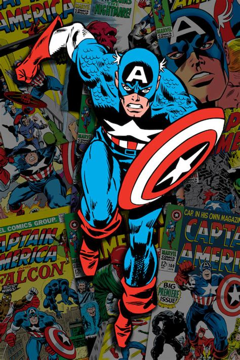 Captain America Comic Book marvel comic book captain america covers colla marvel