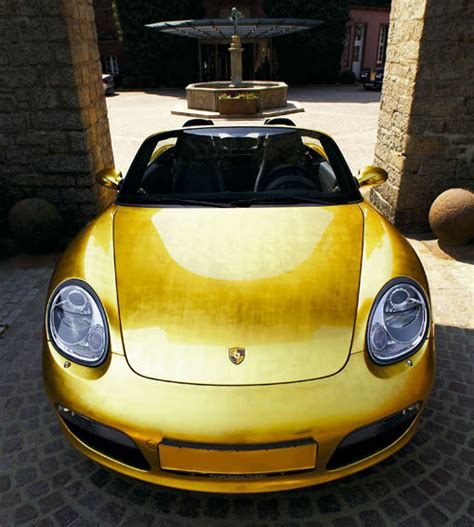 gold porsche boxster official images of the gold boxster