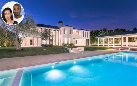 kardashian houses kim kardashian west gives tour of bel air estate people com