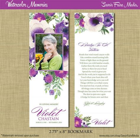 laminated prayer cards templates 12 best memorial bookmarks printable templates images on