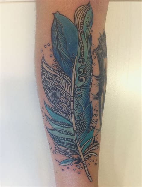 coloured feather tattoo designs feather tatuaje ink