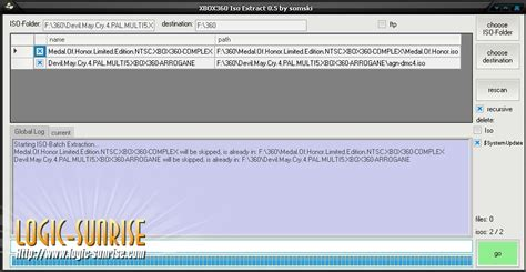 n xbox 360 iso xbox 360 iso extract v0 6 extraire en masse et par ftp