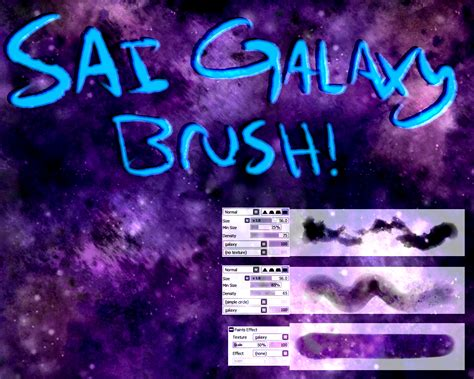 paint tool sai galaxy tutorial sai galaxy space brush texture by asymmetricbutterfly on